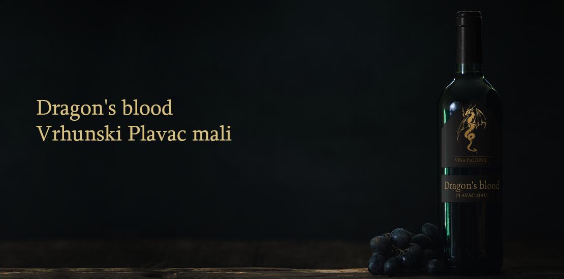 Palihnić Dragon's Blood – Vrhunski Plavac Mali